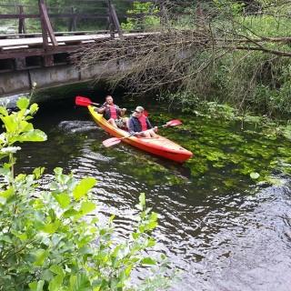 Spływy kajakowe Pliszka i Ilanka w lubuskim